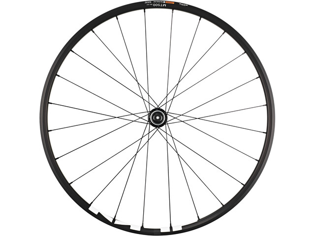 "Shimano WH-MT500 MTB Front Wheel 29"" Disc CL Clincher QR, black"